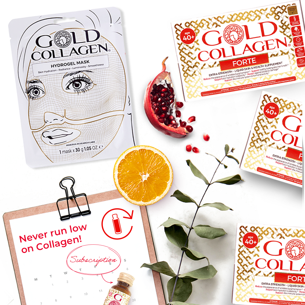 30 Tag 10 Tag Gold Collagen Forte 40 60 Tag Programm